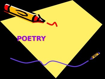 Poetry Notes PowerPoint Presentation