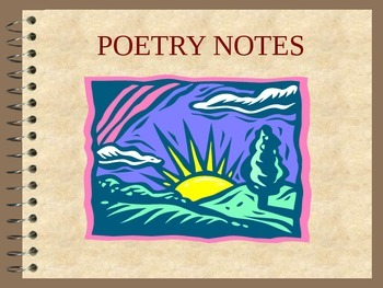 Poetry: PPT