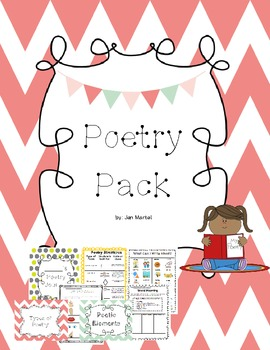 Poetry Pack (Common Core aligned activities for reading an