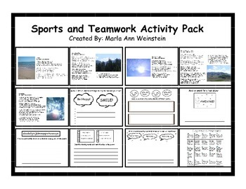 Sports and Teamwork Activity Pack