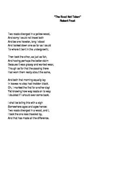 Poetry Pairing: Macbeth and Robert Frost