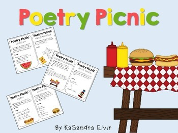 Poetry Picnic Table Cards
