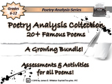Poetry Poem Analysis Ultimate Collection Bundle (Growing)