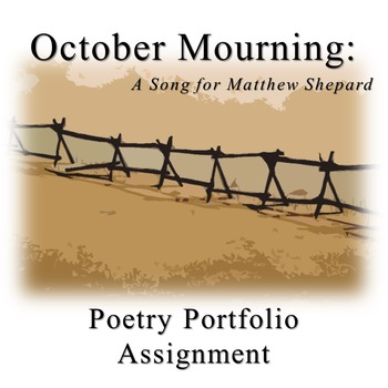 Poetry Portfolio Project for October Mourning: A Song for