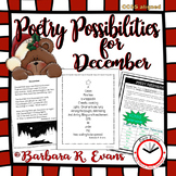 Poetry Possibilities - December Edition