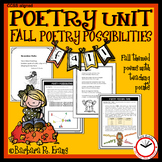 Poetry Possibilities - Fall Edition