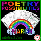 POETRY UNIT: Poetry Activities, Poetry Forms, Poetry Writi