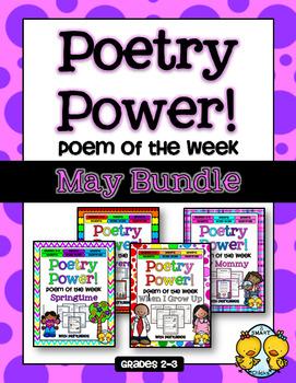 Poem of the Week: MAY BUNDLE Poetry Power!