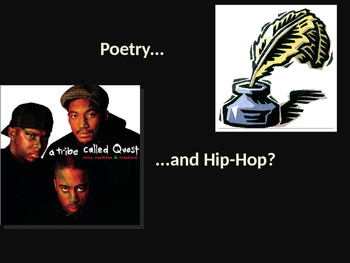 Poetry & Rap Comparison