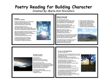 Poetry Reading for Building Character