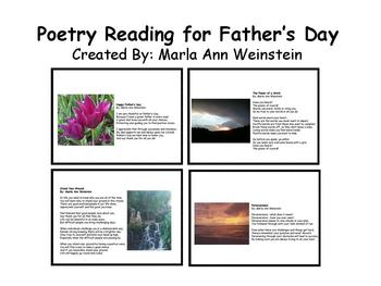 Father's Day Poetry Reading