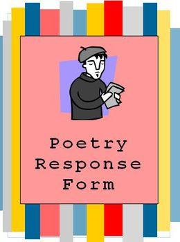 Poetry Response Handout