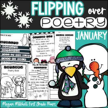Poetry Station Flip Books: January