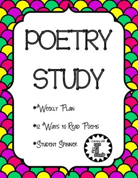 Poetry Study - Use with ANY Poem