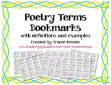 Poetry Terms Bookmarks - Figurative Language Devices