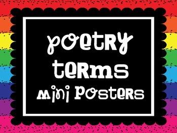 Poetry Terms/Vocabulary