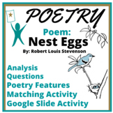 Poetry Test Passage and Summary Activity: Nest Eggs by R.L