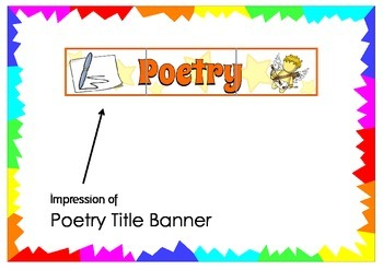 Poetry Title Banner