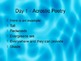 Poetry Unit - A 5 day Comprehensive Unit