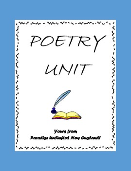 Poetry Unit Gr. 9-12+