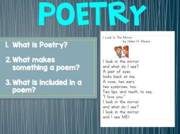 Poetry Unit PowerPoint