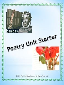 English Poetry Unit Starter