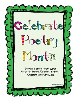Poetry Unit for Elementary Writers!