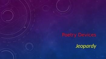 Poetry Vocabulary Jeopardy