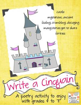 Poetry - Write Cinquains with grades 4 to 7!
