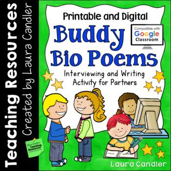 Bio Poems (Partner Poetry Writing)