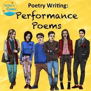 Writing Group Poetry, Choral Reading, Substitute Plan, Ora