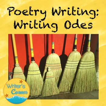 Poetry Writing: Writing Odes, Creative Writing, Fun Stuff,