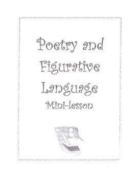 Poetry and Figurative Language Mini-Lessons