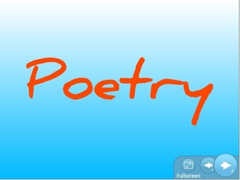 Poetry terms pack
