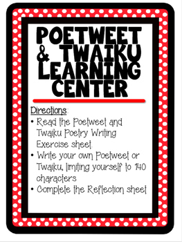 Poetweet Learning Center