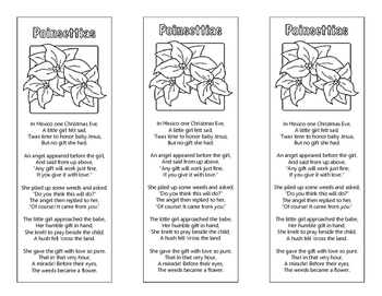 Poinsettia Bookmarks
