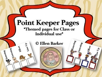 Point Keeper Pages