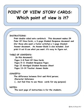 Point Of View Cards