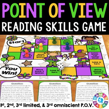 Point of View Activity: Point of View Game (Includes 3rd L