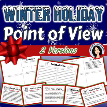 Point of View Activity for Winter and December Holidays wi
