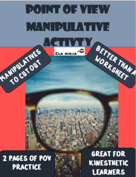 Point of View Activity with manipulatives