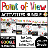 Point of View Task Cards, Sorting, and Printables BUNDLE