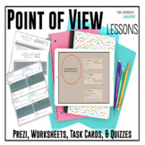 Point of View – Complete Unit with Prezi, Novel Passages P