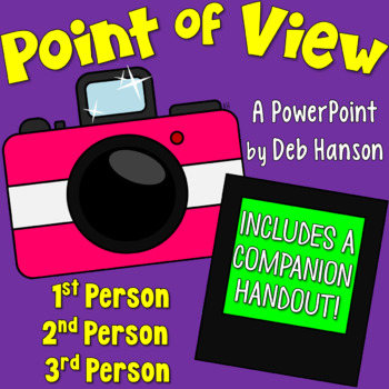 Point of View PowerPoint (1st, 2nd, and 3rd Person)