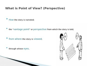 Point of View PPT - In-Class Exercise - Literary Elements