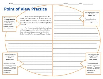 Point of View Practice Write