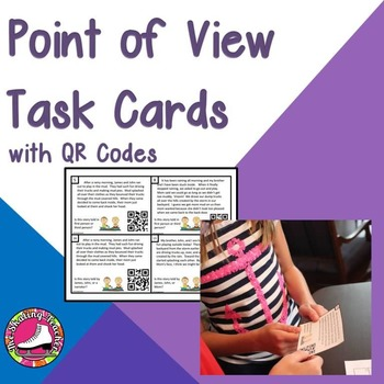 Point of View Task Cards: First or Third Person and Identi