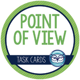 Point of View Task Cards - Popular fiction in 1st or 3rd person