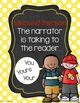 Point of View reading posters, handout & bookmarks, Intera