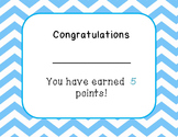 AR Points Earned Reading Certificates (Accelerated Reader